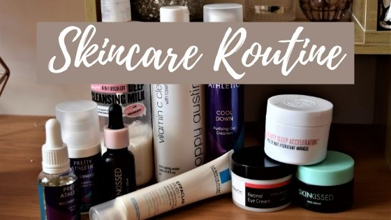 skincare routine header