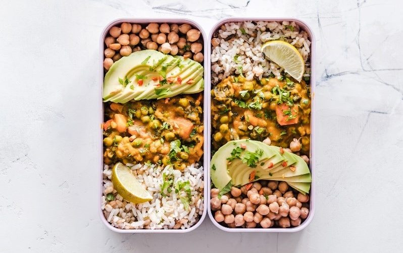 meal prep dishes